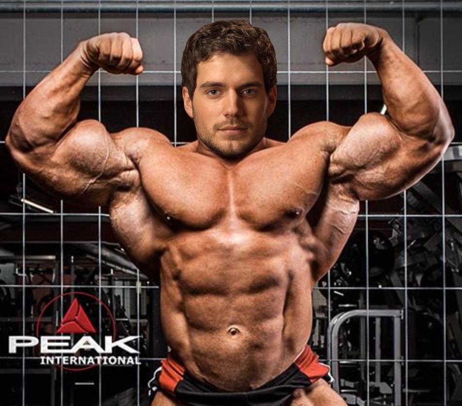 Muscle Morph: Henry Cavill 1 By Doryfan1 On DeviantArt