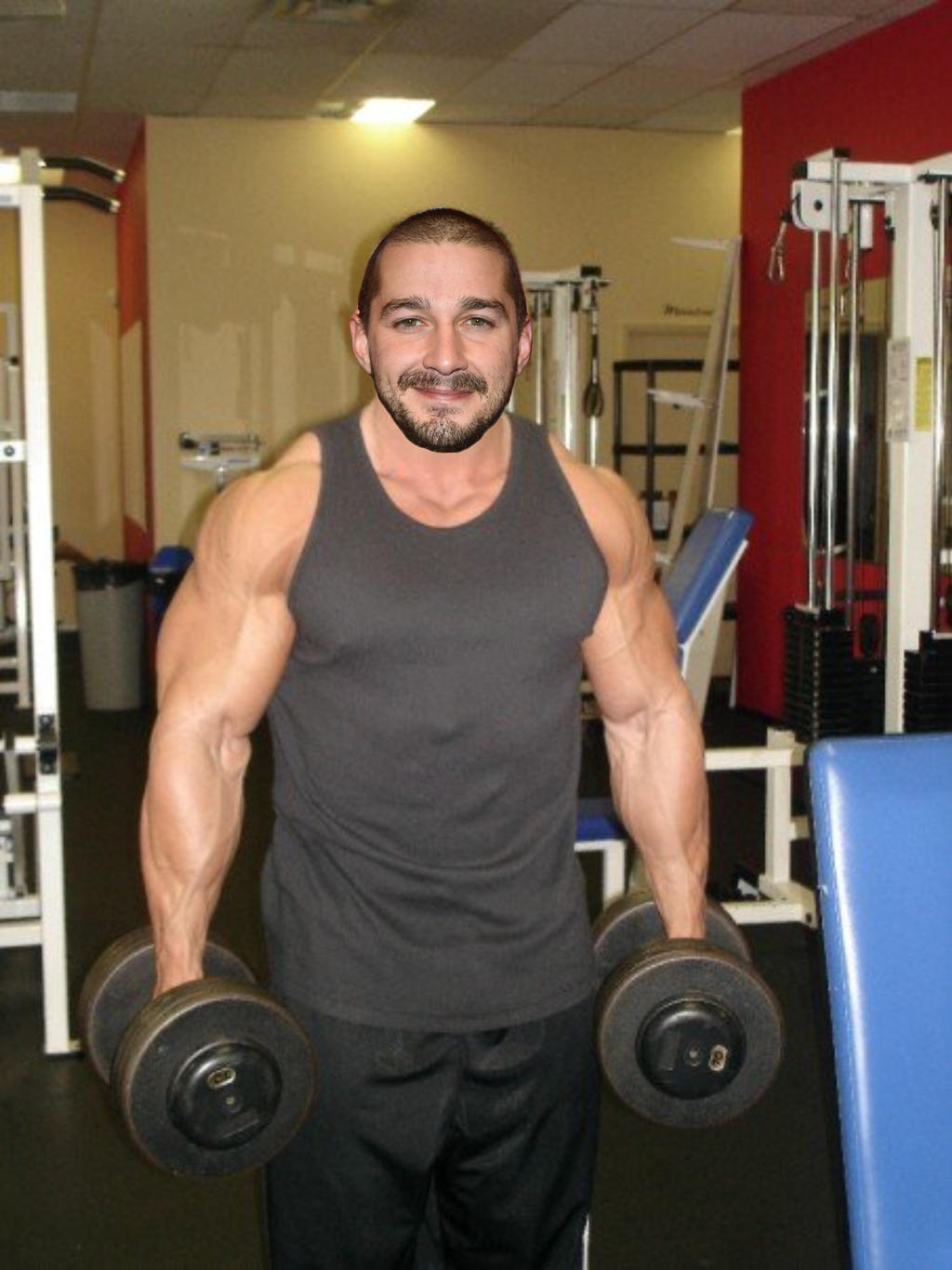 Muscle Morph Image | Male Models Picture