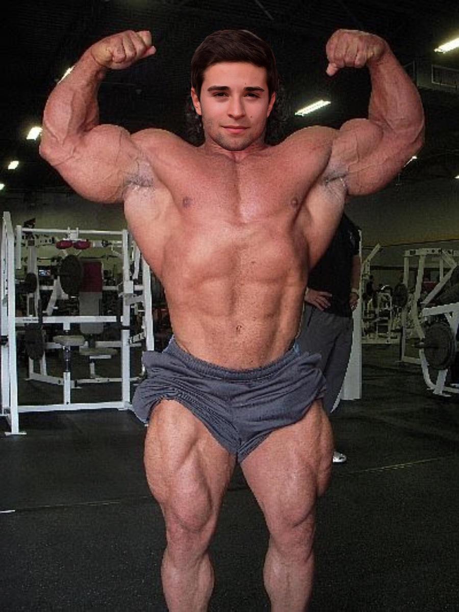 Muscle Morph Jake Miller 1 By Doryfan1