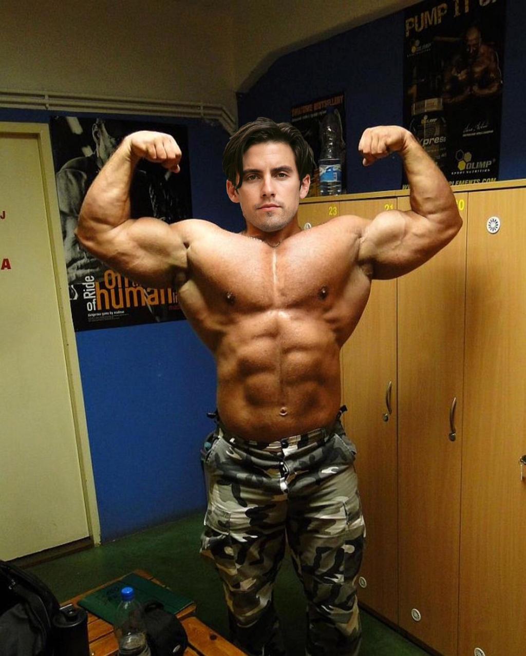 Muscle Morph: Milo Ventimiglia 1 By Doryfan1 On DeviantArt