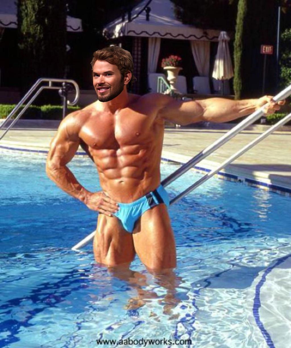 Muscle Morph: Kellan Lutz 6 by doryfan1 on DeviantArt