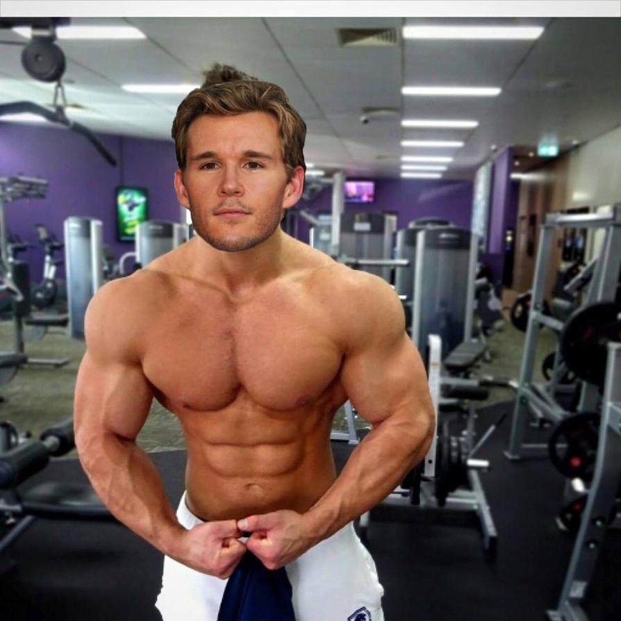 Muscle Morph: Ryan Kwanten 3 By Doryfan1 On DeviantArt