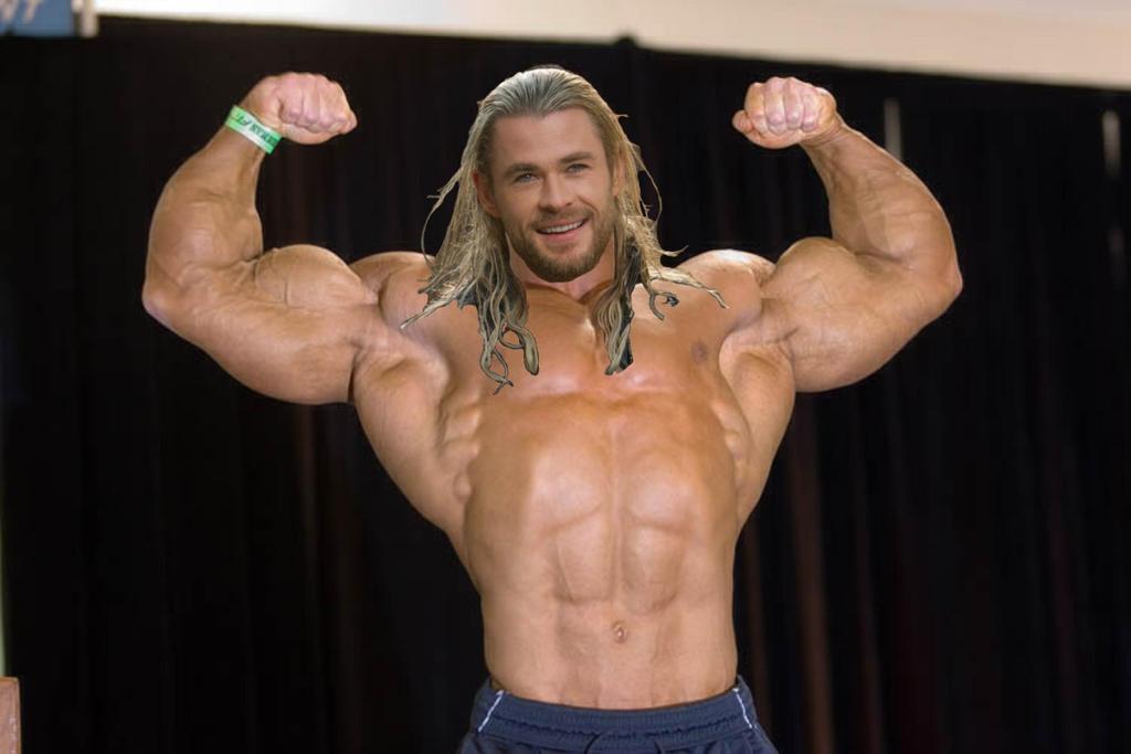 Muscle Morph: Chris Hemsworth 10 by doryfan1 on DeviantArt