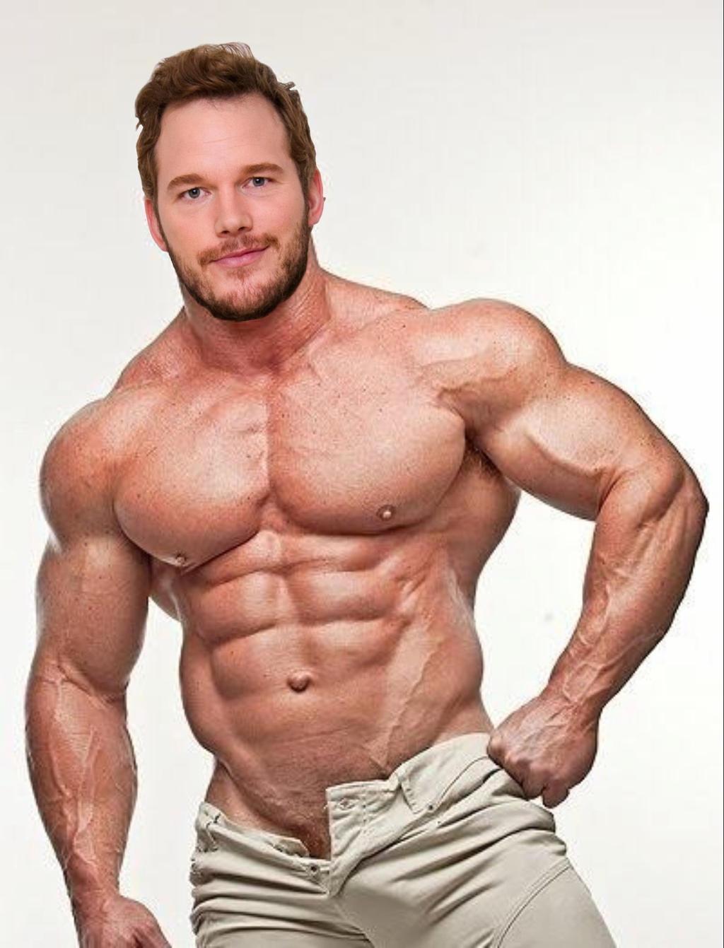 Muscle Morph: Chris Pratt 10 by doryfan1 on DeviantArt