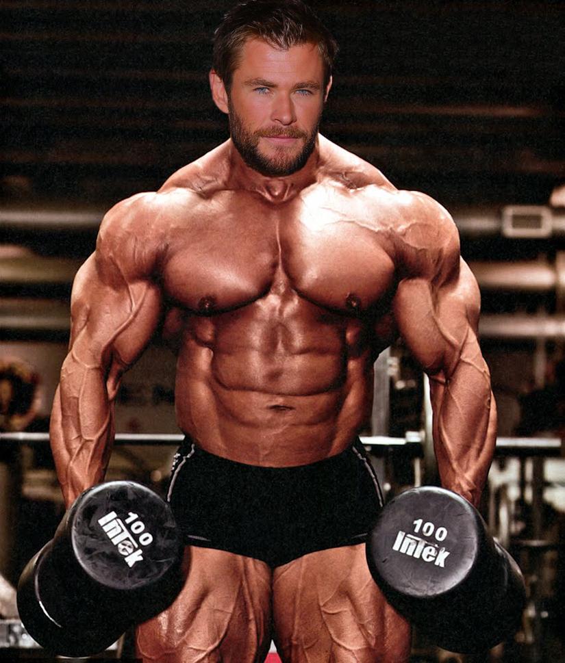 Muscle Morph: Chris Hemsworth 13 By Doryfan1 On DeviantArt