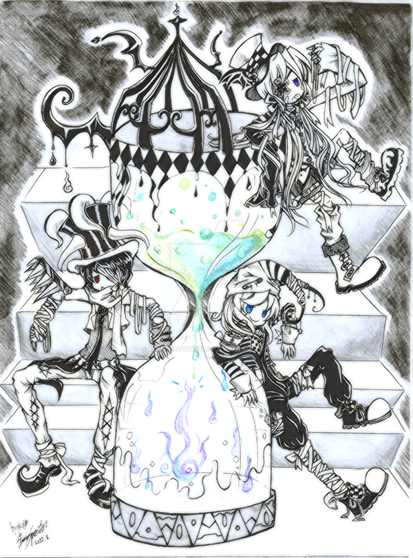 Time-Space,Spirit-Ghost by BlackHattyViolet