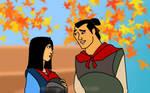 Mulan and Li Shang for Caitlyn