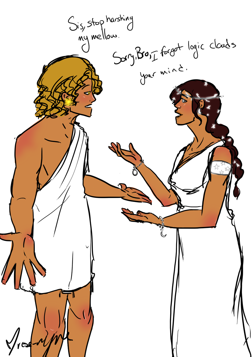 apollo and artemis by rose rayne on deviantart