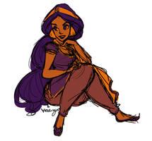 Jasmine Doodle by Rose-Rayne