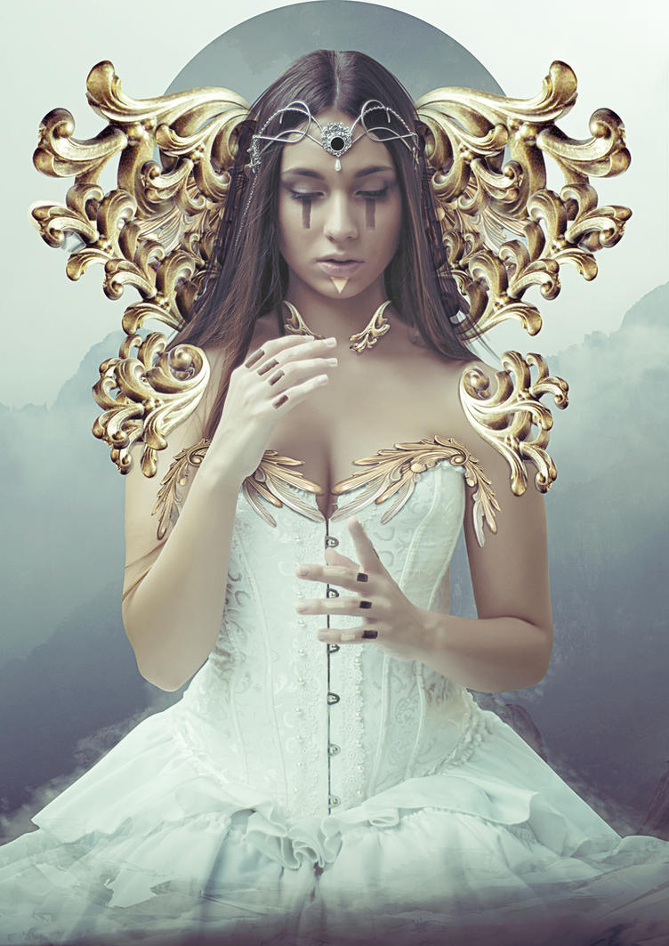 Lady Of Universe +Tutorial by simox96