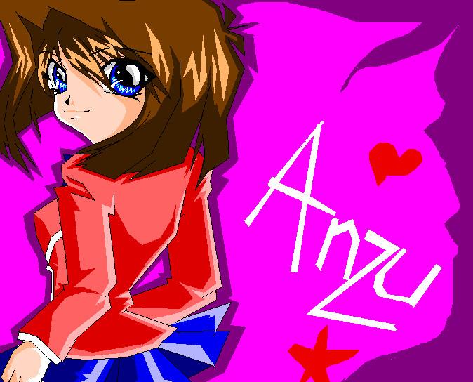 Anzu mazaki d by proanzu eever manga anime traditional media drawings