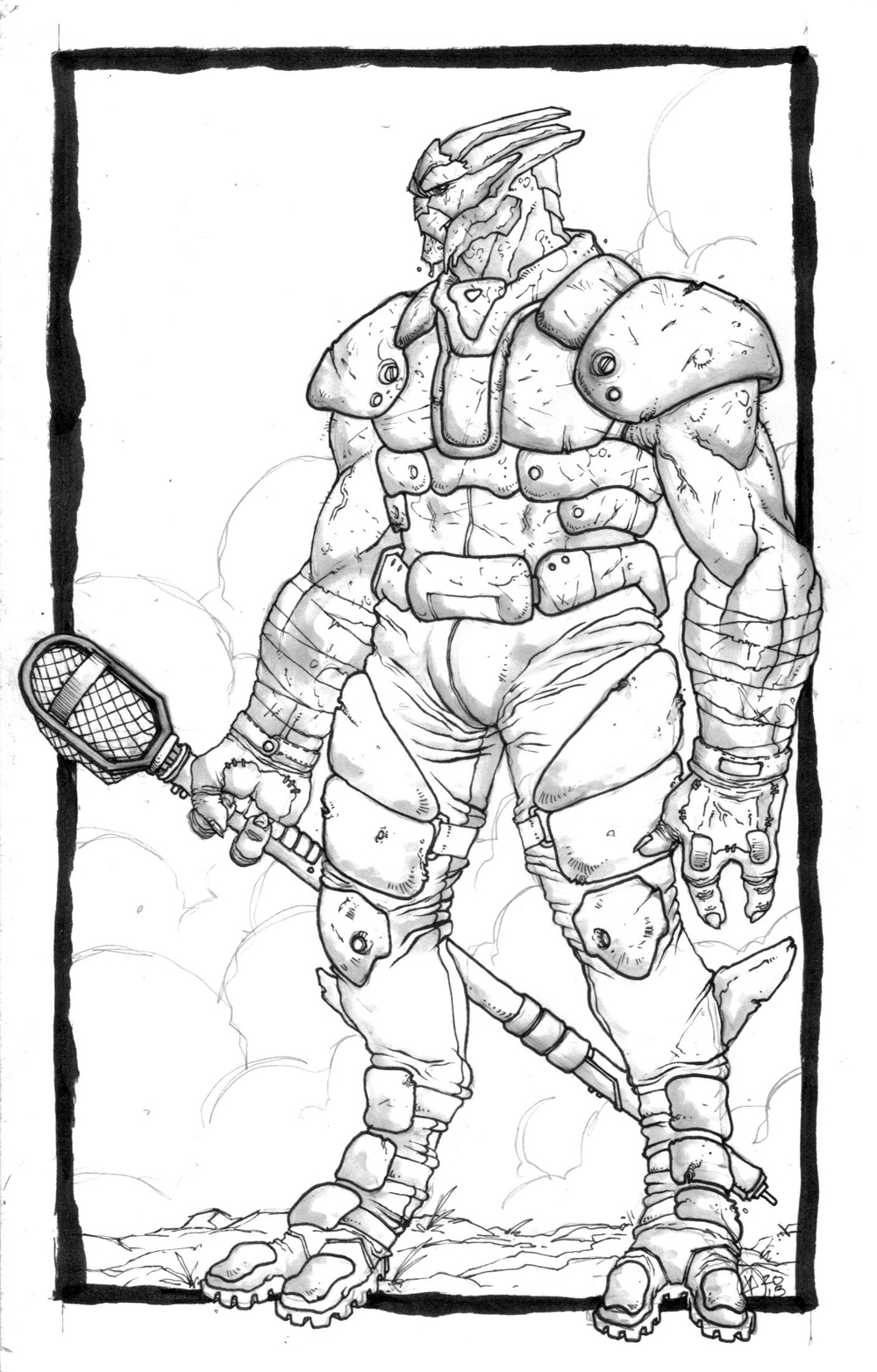 TURIAN ATHLETE by COUNTPAGAN