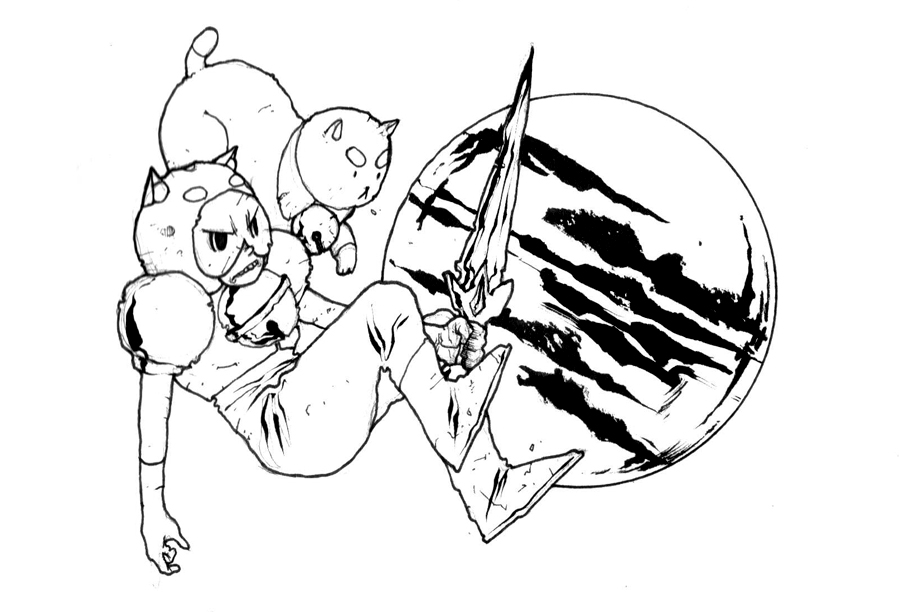 BEE AND PUPPYCAT by COUNTPAGAN