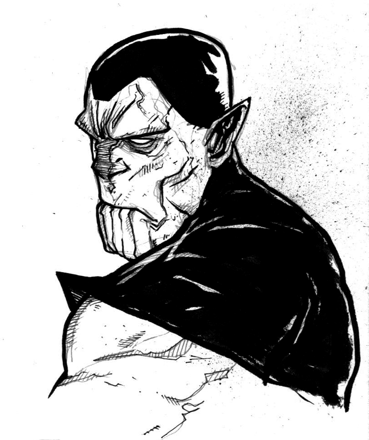 SUPER SKRULL by COUNTPAGAN