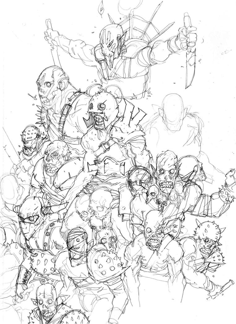 ORCS by COUNTPAGAN