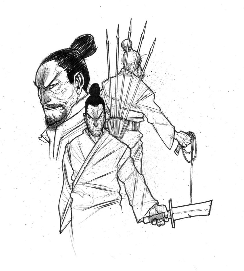 ONE ARMED SWORDSMAN by COUNTPAGAN
