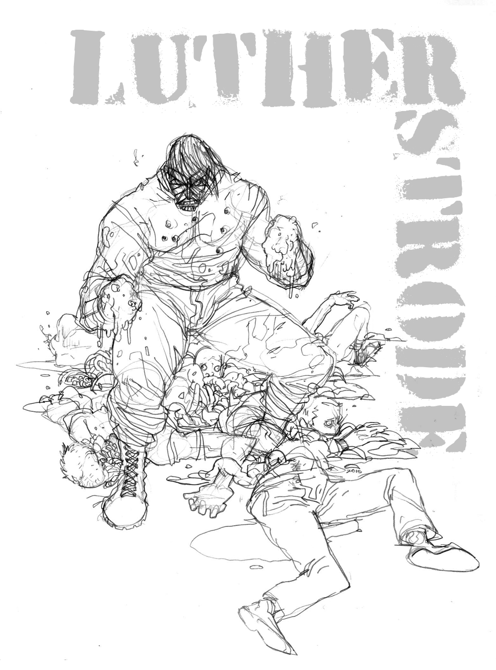 LUTHER STRODE by COUNTPAGAN