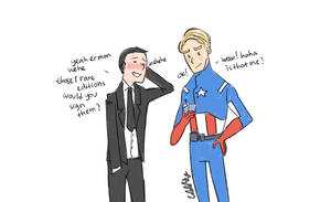 The Avengers: Phil Coulson and his idol