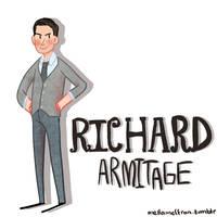 Richard Armitage by mellamelfran