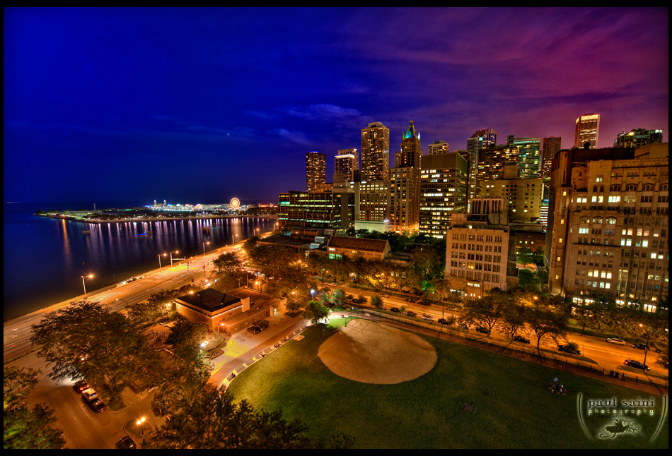 Chicago Nights by paulsaini