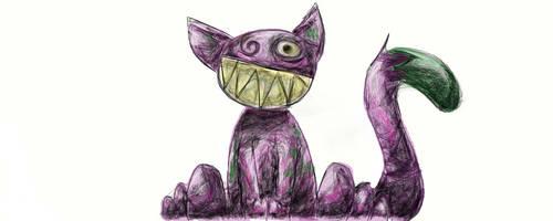 Crazy Cat by FireStump