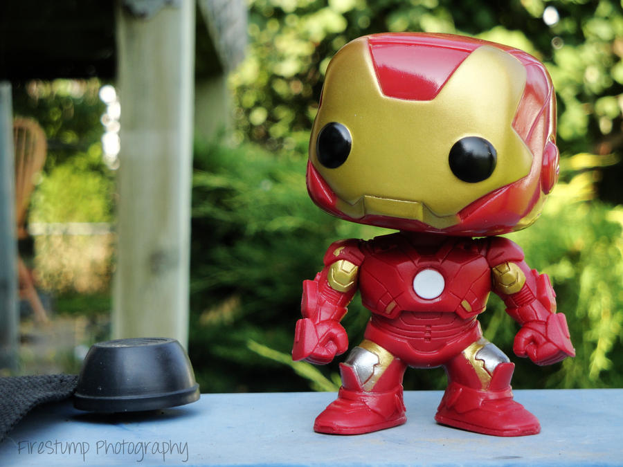 Blockhead Iron Man 2 by FireStump