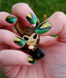 Loki Nails by FireStump