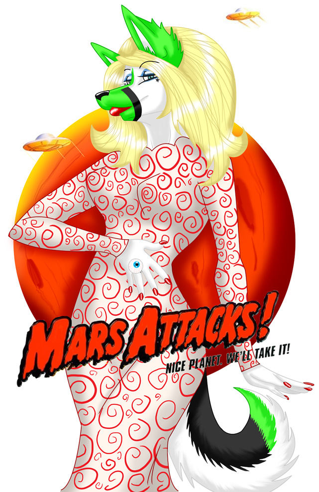 MARS ATTACKS by Star-Tits
