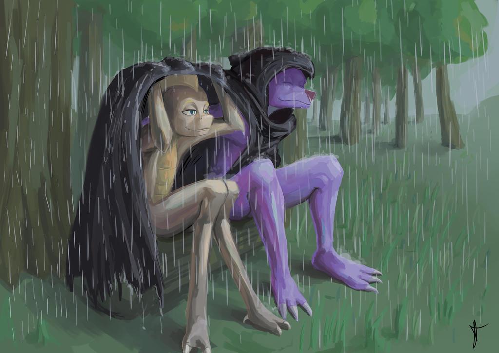 Rainy day by double-ZR-tap