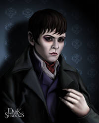 Portrait of Barnabas Collins by KarlaRuiz