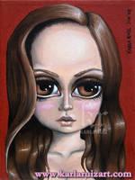 Portrait of Anna Paquin by KarlaRuiz
