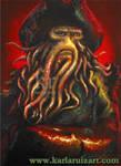 Portrait of Davy Jones by KarlaRuiz