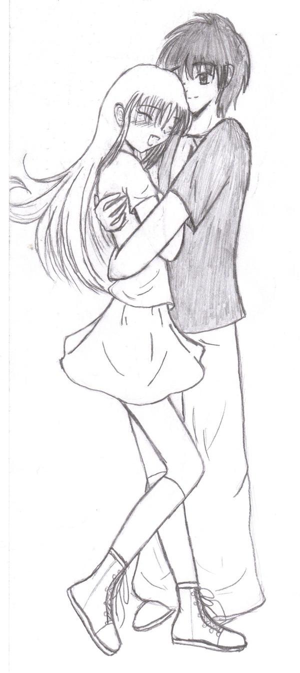 random couple by Mew-Ichigo31