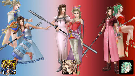 Dissidia 012 Friend Card Download by Ixbran