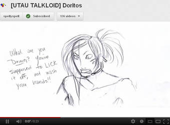 [UTAU TALKLOID] Doritos - YT Link by Ixbran