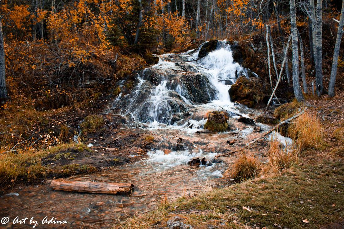 Waterfall by artbyadina
