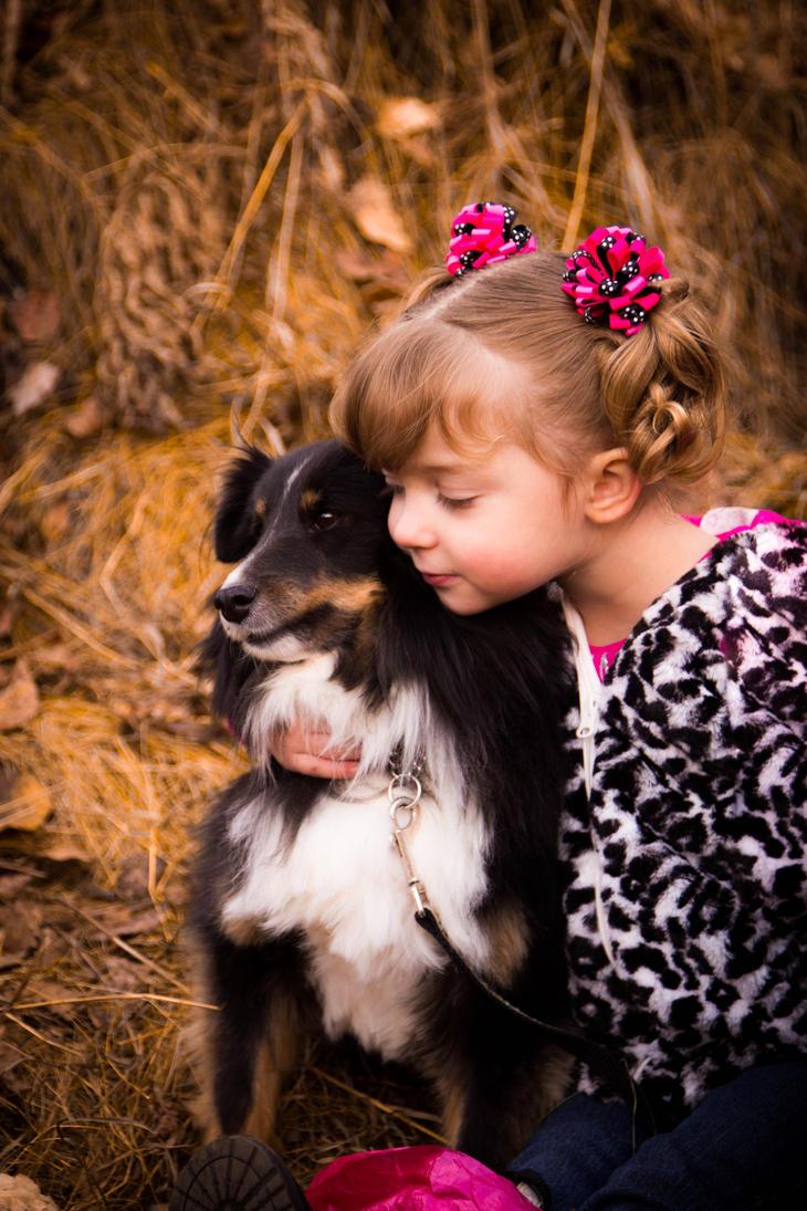 Puppy Love by artbyadina