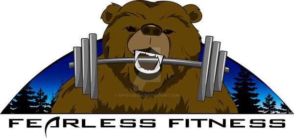 Fearless Fitness Logo by artbyadina