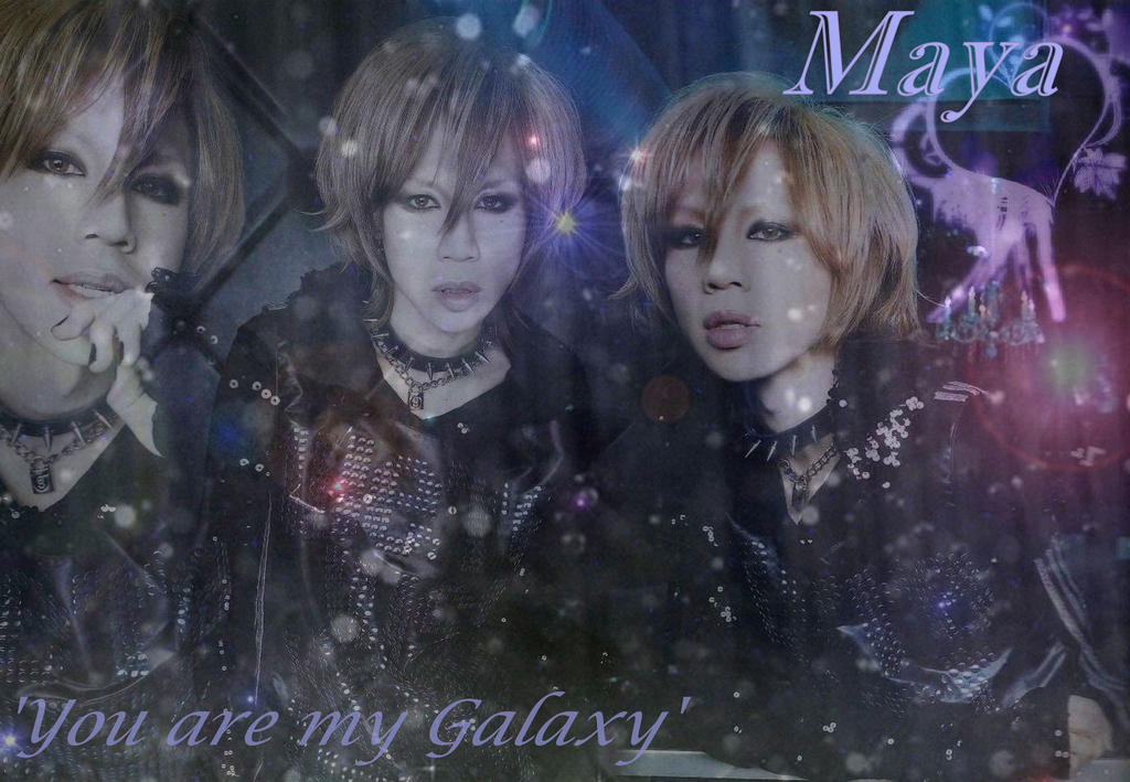 You are my Galaxy by bellie1997