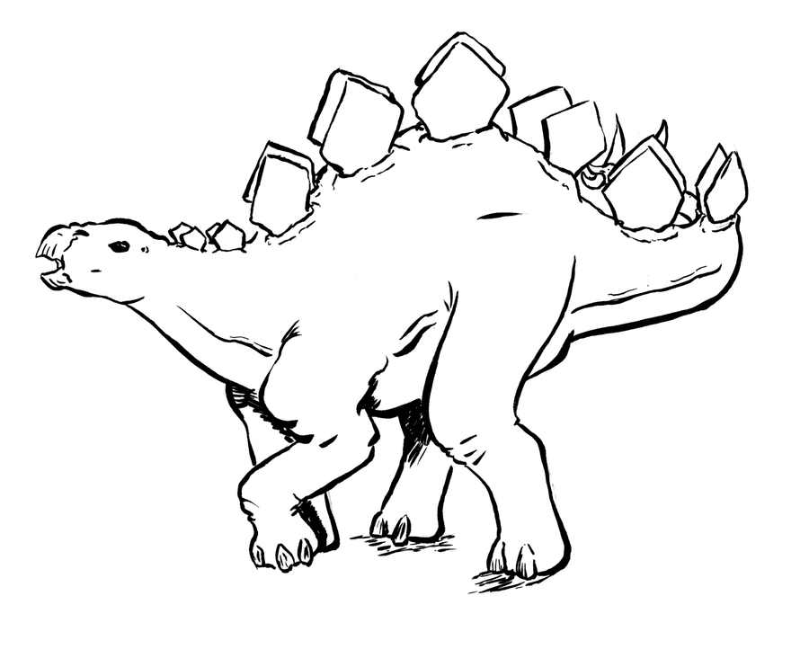 Stegosaurus by LucasPuryear on DeviantArt