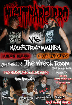 THCW Nightmare Pro Mousetrap Mayhem