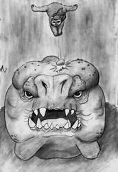 Ewok vs Rancor