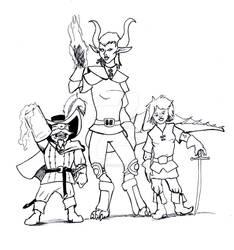Three Rogues