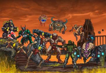 At Doom's Gate by RainbowHacker