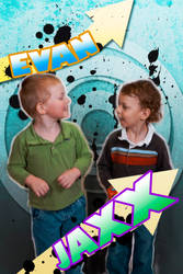 Evan and Jaxx by ranhan