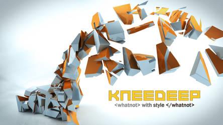 Kneedeep Logo 042210- Cyan by ranhan