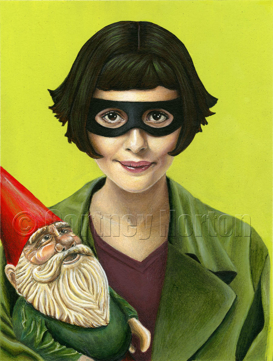 Amelie And The Traveling Gnome By Cortneynorton On Deviantart