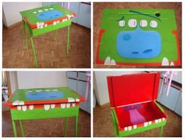 Monster Desk by xanderthurteen