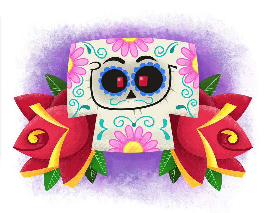 Sugar Skull by xanderthurteen