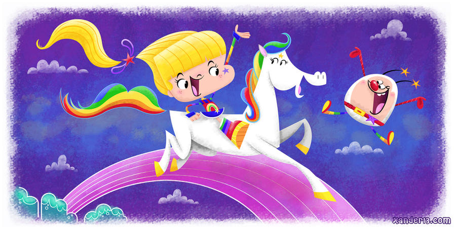 Rainbow Brite by xanderthurteen